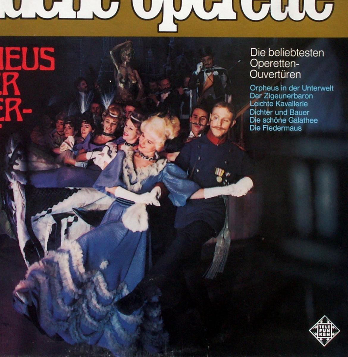 Various - Goldene Operette Orpheus In Der Unterwelt [LP]