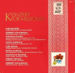 Various - Konzert Für Millionen [LP]