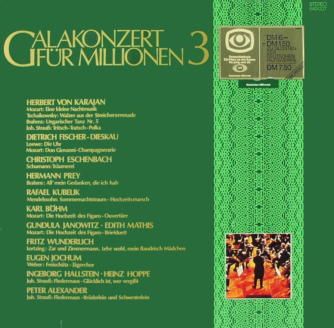 Various - Galakonzert Für Millionen 3 [LP]