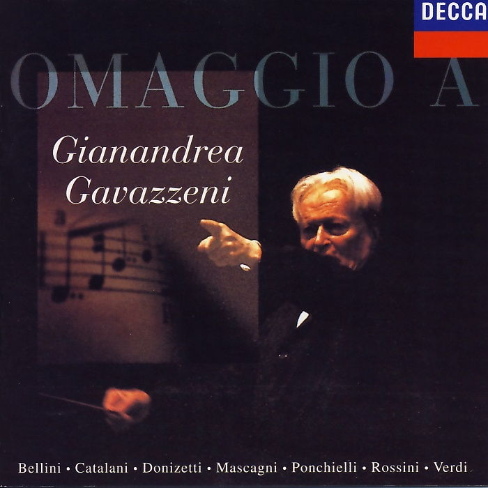 Gavazzeni, Gianandrea - Omaggio A Gianandrea Gavazzeni [CD]
