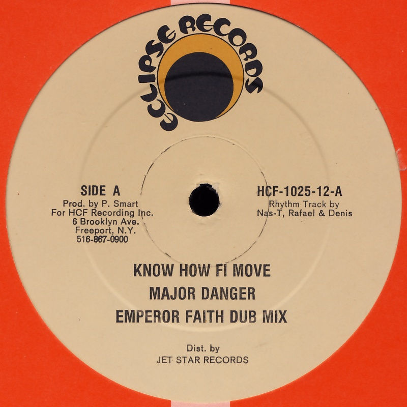 "Major Danger / Romeo - Know How Fi Move / Shower Me With Your Love [12"" Maxi]"