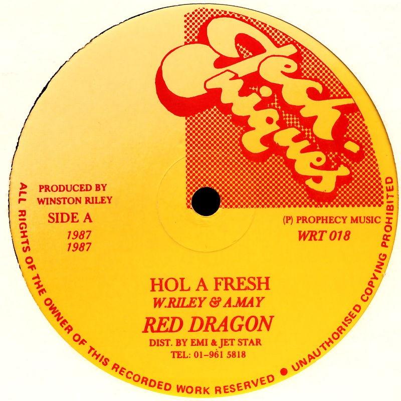 """Red Dragon / Super Black - Hol A Fresh / Nowadays Girls [12"""" Maxi]"""
