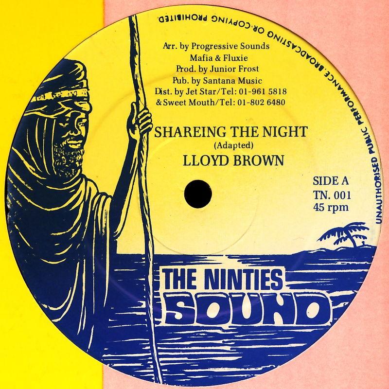 "Brown, Lloyd - Shareing The Night [12"" Maxi]"