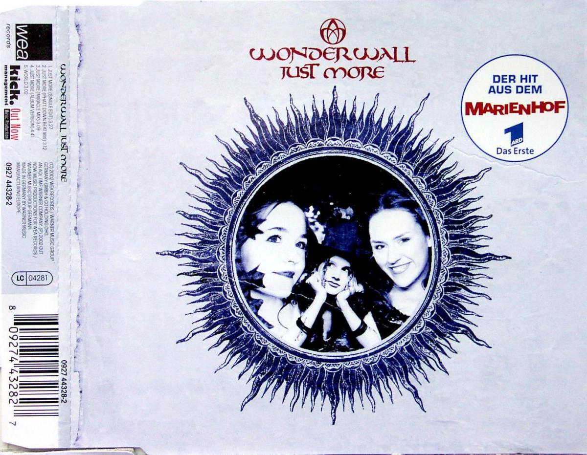 Wonderwall - Just More [CD-Single]