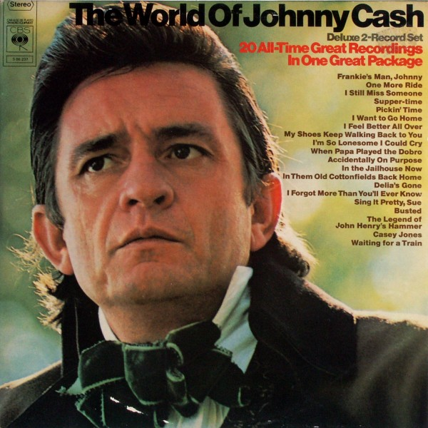 Cash, Johnny - The World Of Johnny Cash [LP]