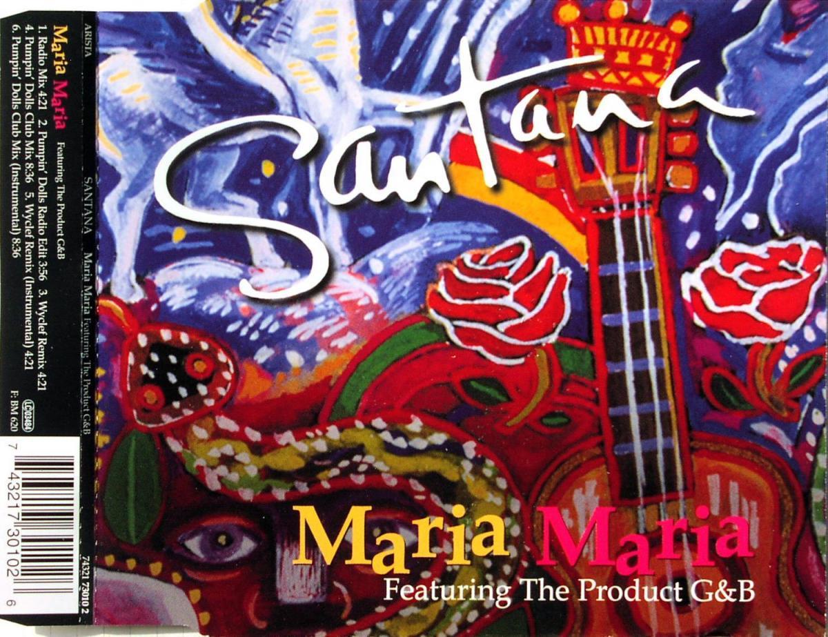 Santana - Maria Maria [CD-Single]