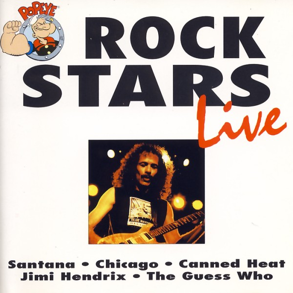 Various - Rock Stars Live [CD]