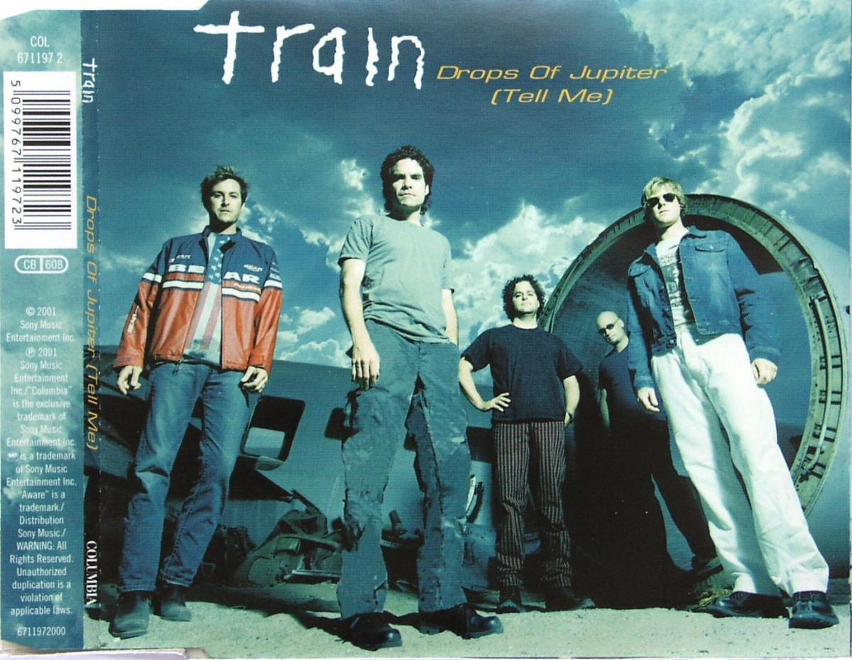 Train - Drops Of Jupiter (Tell Me) [CD-Single]