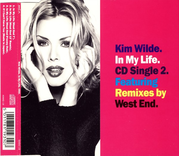 Wilde, Kim - In My Life West End RMXes [CD-Single]