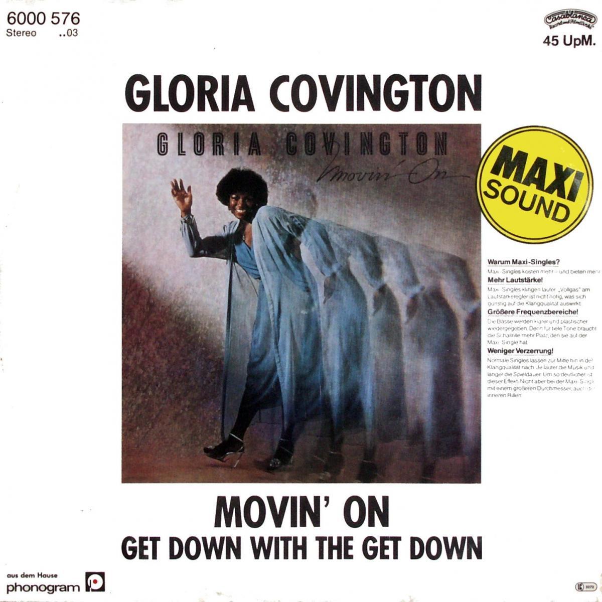 """Covington, Gloria - Movin' On [12"""" Maxi]"""