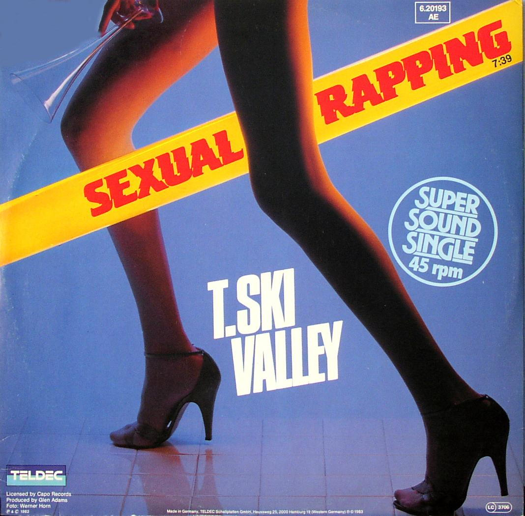 """T. Ski Valley - Sexual Rapping [12"""" Maxi]"""