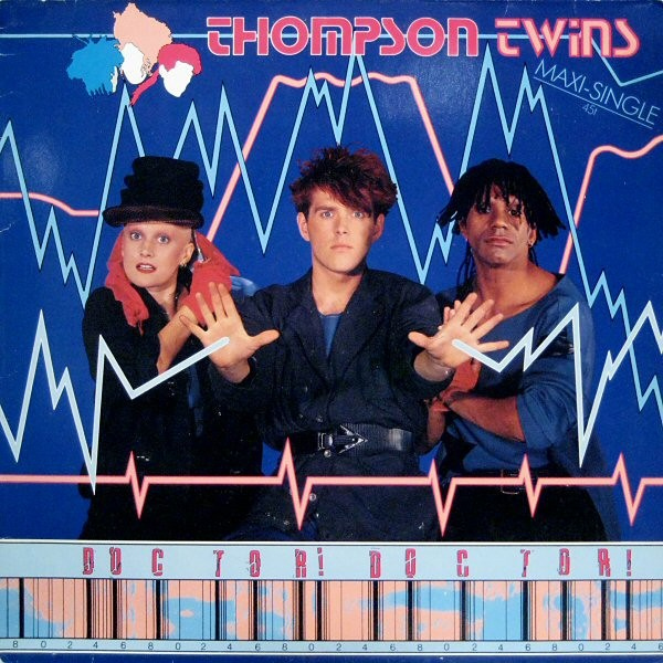 """Thompson Twins - Doctor Doctor [12"""" Maxi]"""