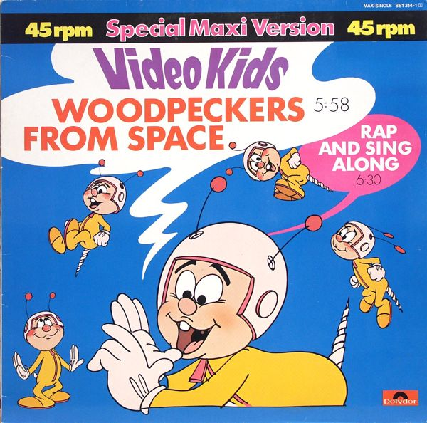 """Video Kids - Woodpeckers From Space [12"""" Maxi]"""