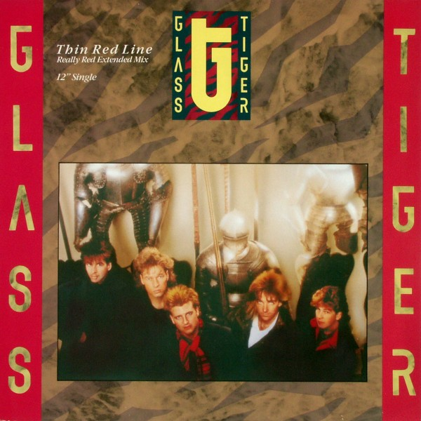 "Glass Tiger - Thin Red Line [12"" Maxi]"