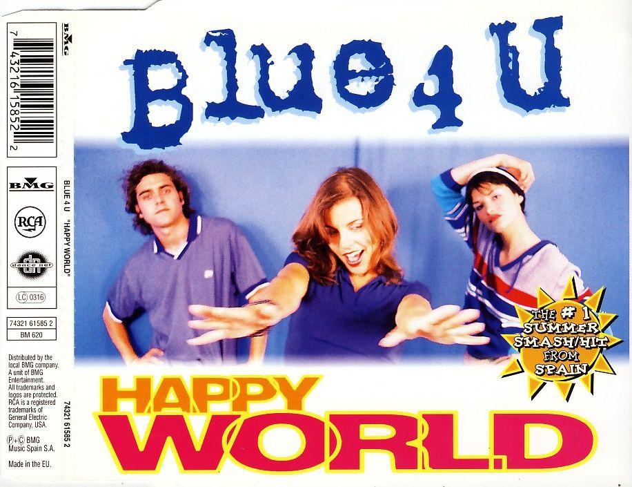 Blue 4 U - Happy World [CD-Single]