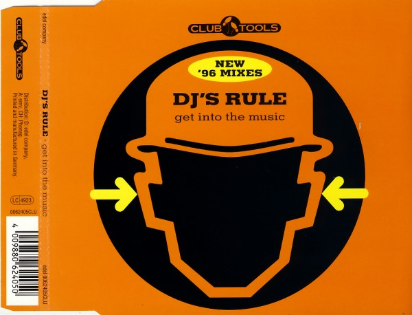 Dj's Rule - Get Into The Music [CD-Single]
