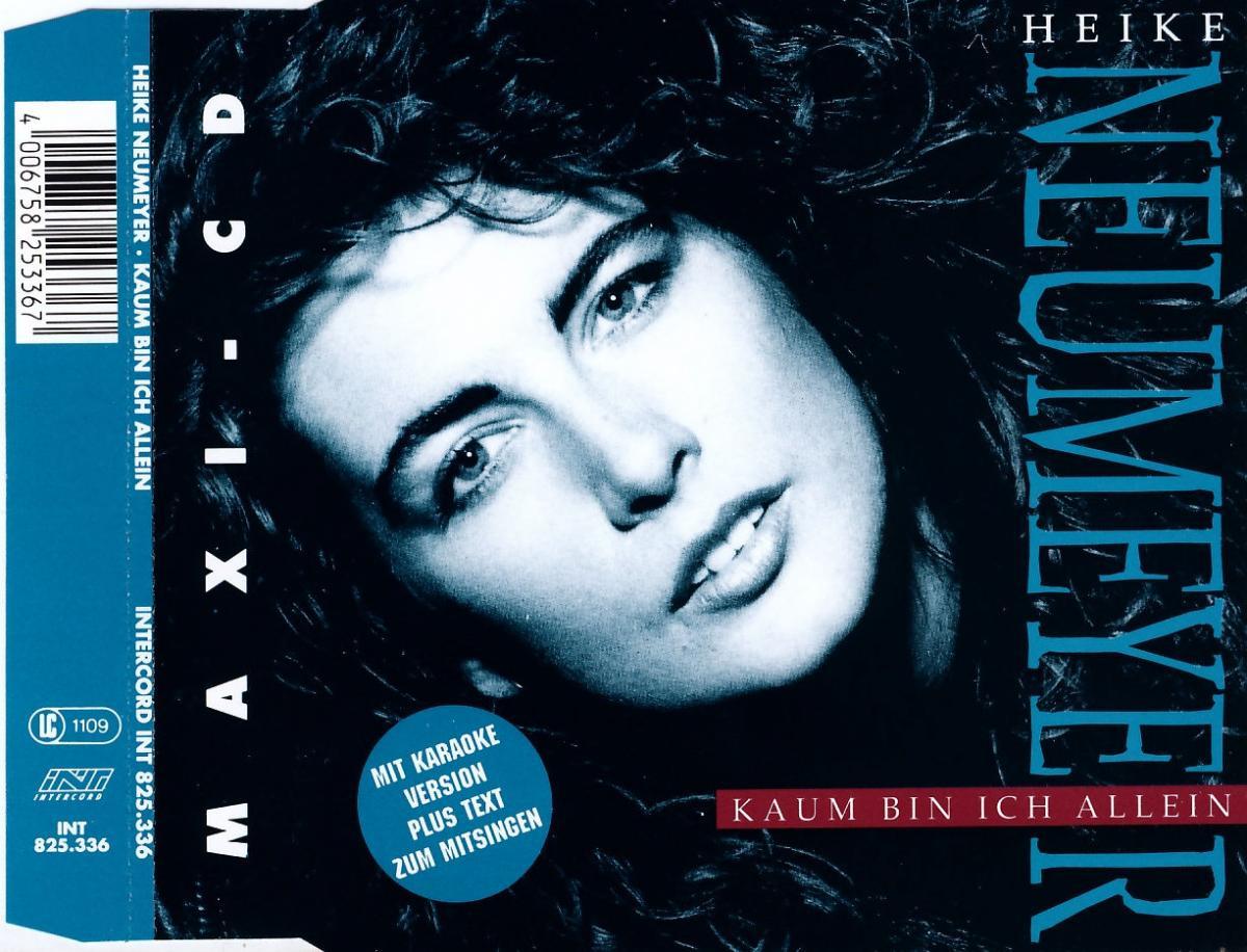 Neumeyer, Heike - Kaum Bin Ich Allein [CD-Single]