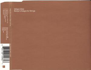 Orbit, William - Barber's Adagio For Strings [CD-Single]