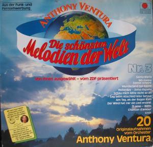 Ventura, Anthony - Die Schönsten Melodien Der Welt. Nr. 3 [LP]