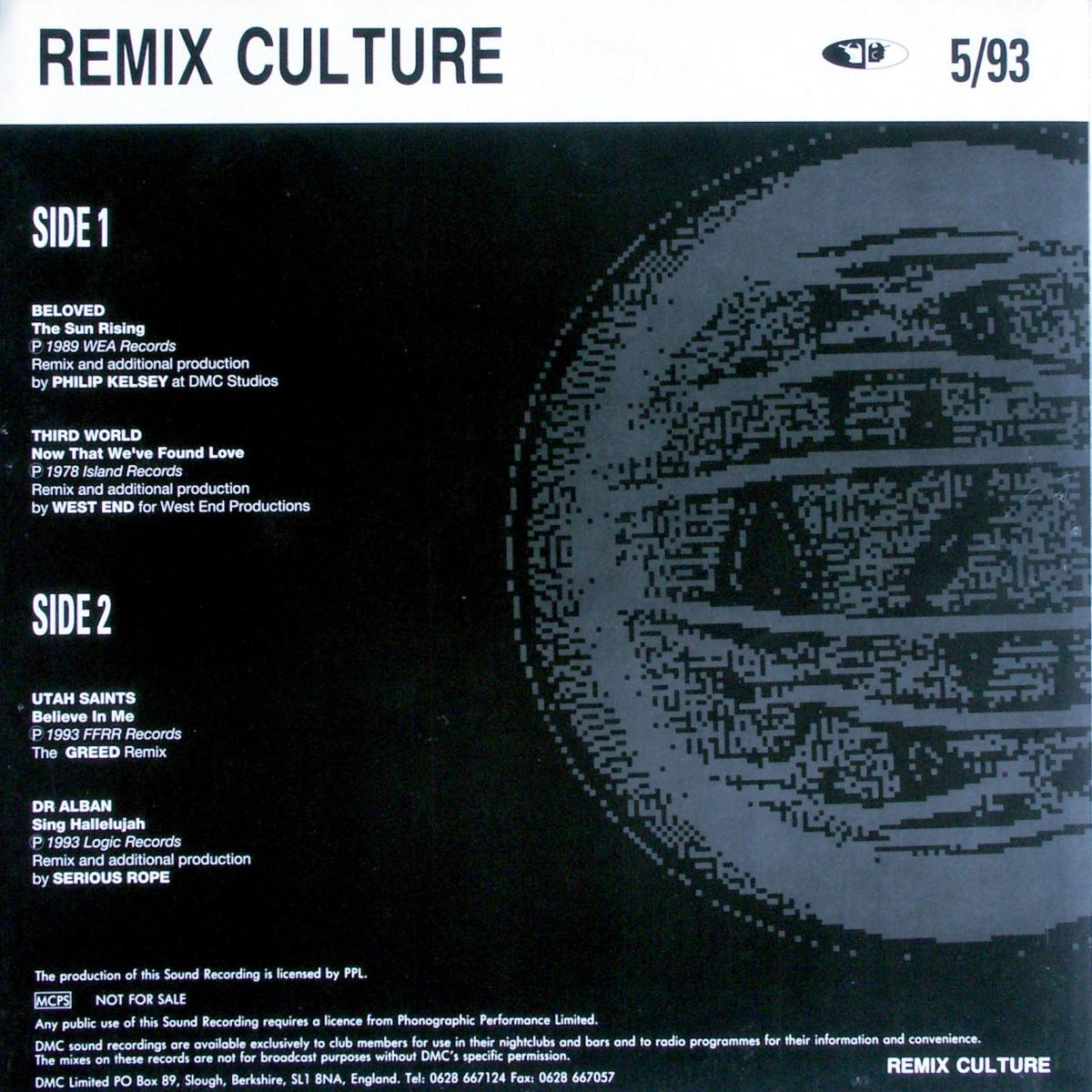Various - Remix Culture: Transatlantic Mix Soundclash