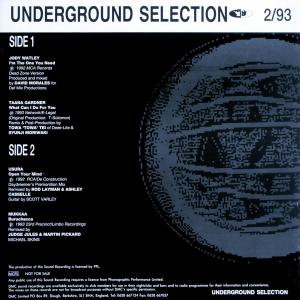 Various - DMC Underground Selection 2/93 [LP]