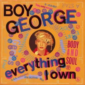"""Boy George - Everything I Own [12"""" Maxi]"""