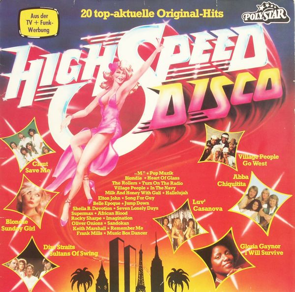 Various - High Speed Disco [LP]