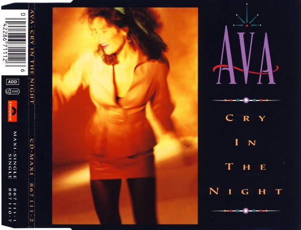 Ava - Cry In The Night [CD-Single]