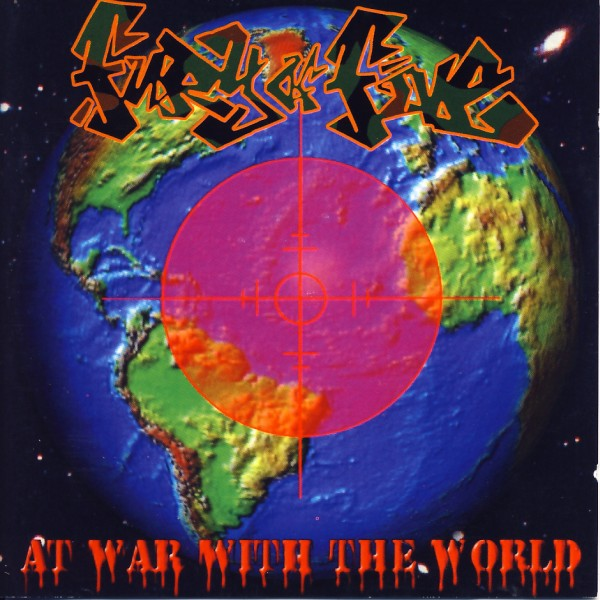 Fury Of Five - At War With The World [CD]