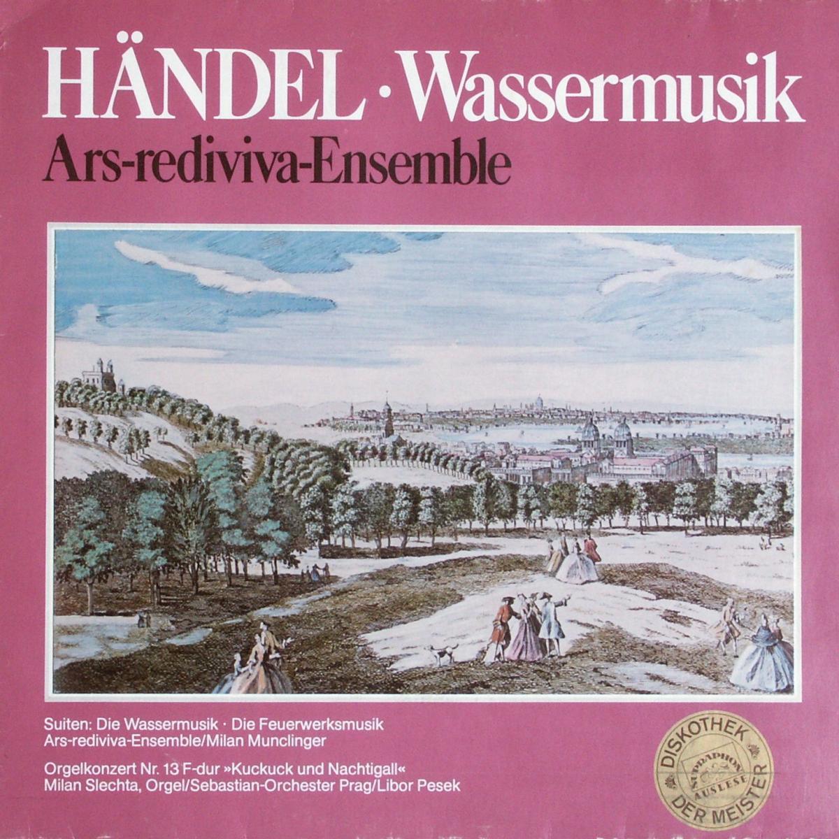 Händel - Wassermusik [LP]
