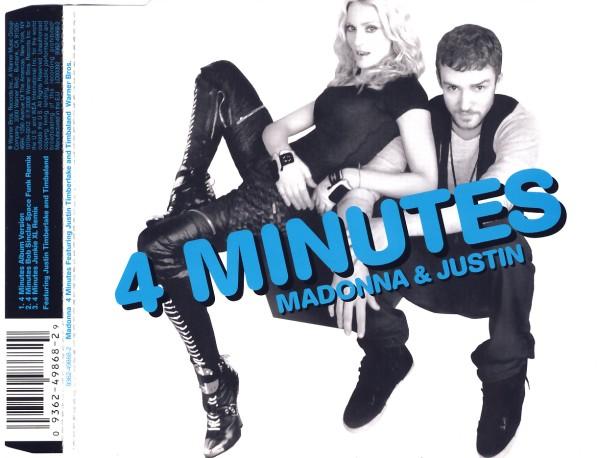 Madonna feat. Timberlake, Justin - 4 Minutes [CD-Single]