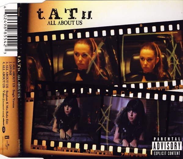 TATU - All About Us [CD-Single]