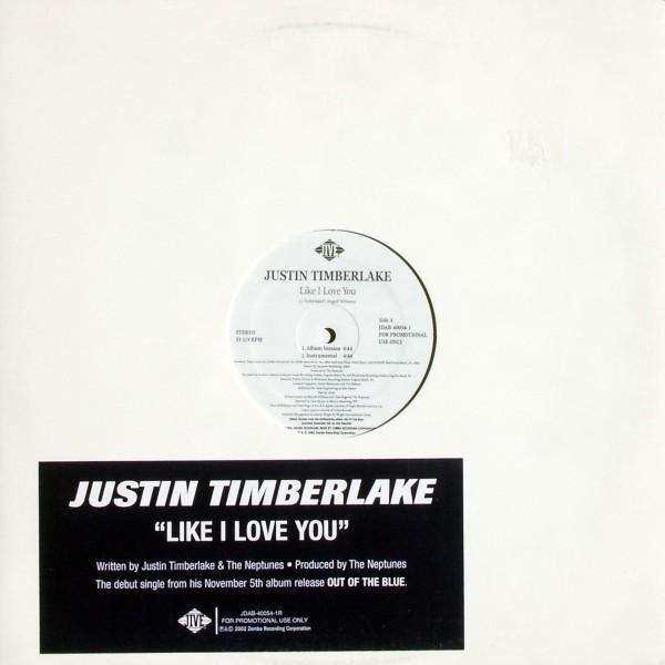 "Timberlake, Justin - Like I Love You [12"" Maxi]"