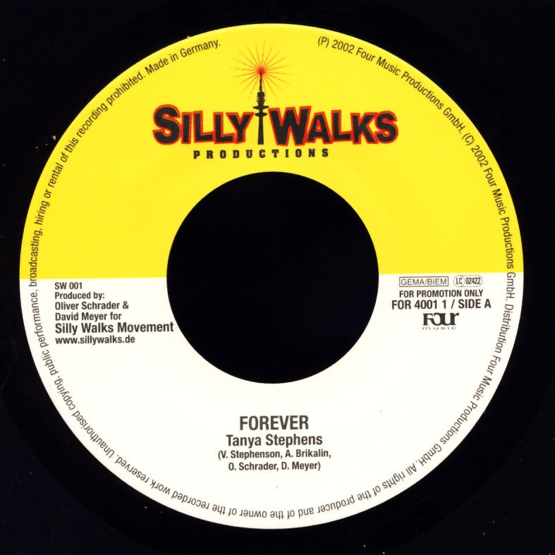 "Stephens, Tanya / Lobstarr - Forever / Too Sweet [7"" Single]"