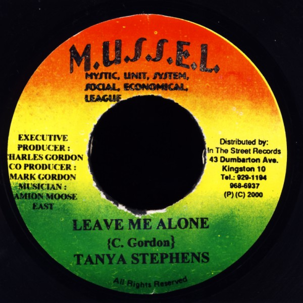"Stephens, Tanya / Yutie Ras & Weken - Leave Me Alone / Not A Holiday [7"" Single]"