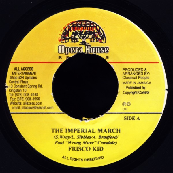 """Frisco Kid - The Imperial March [7"""" Single]"""