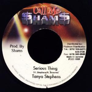 "Stephens, Tanya - Serious Thing [7"" Single]"