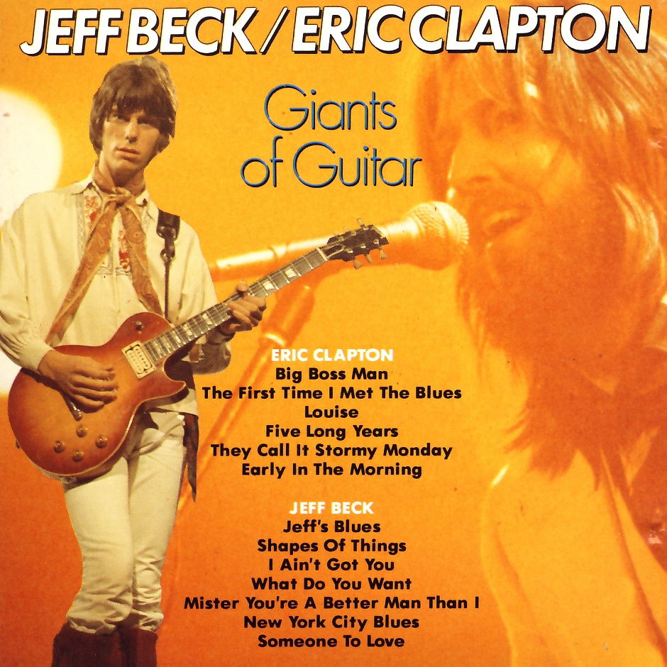 Clapton, Eric / Beck, Jeff - Giants Of Guitar [CD]