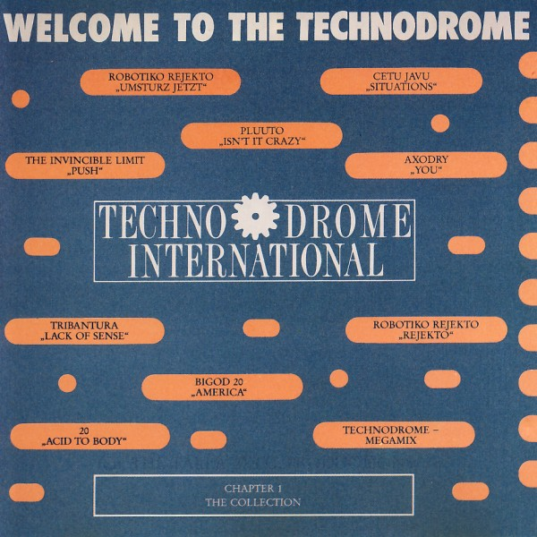 Various - Welcome To The Technodrome [CD]