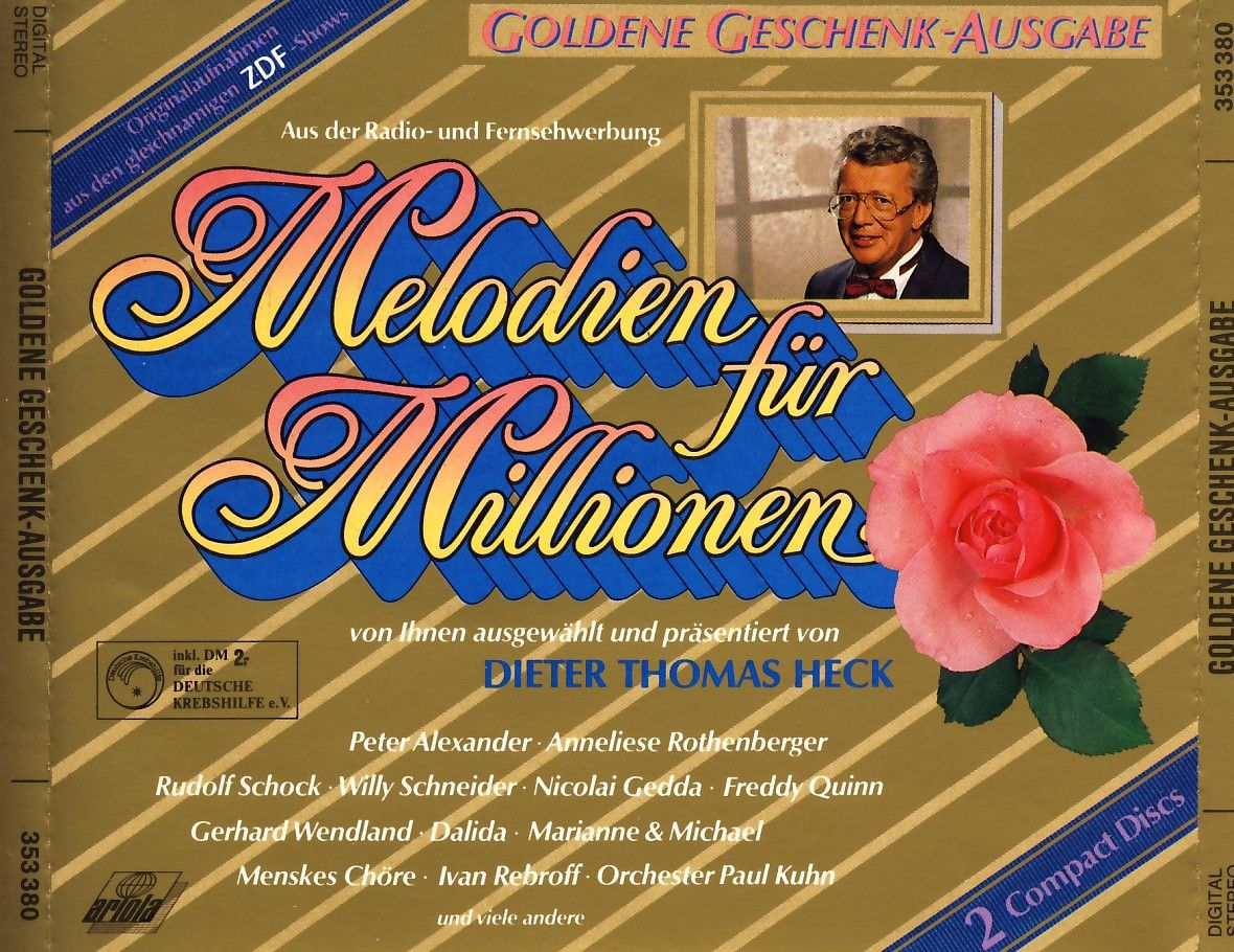 Various - Melodien Für Millionen Goldene Geschenkausgabe [CD]