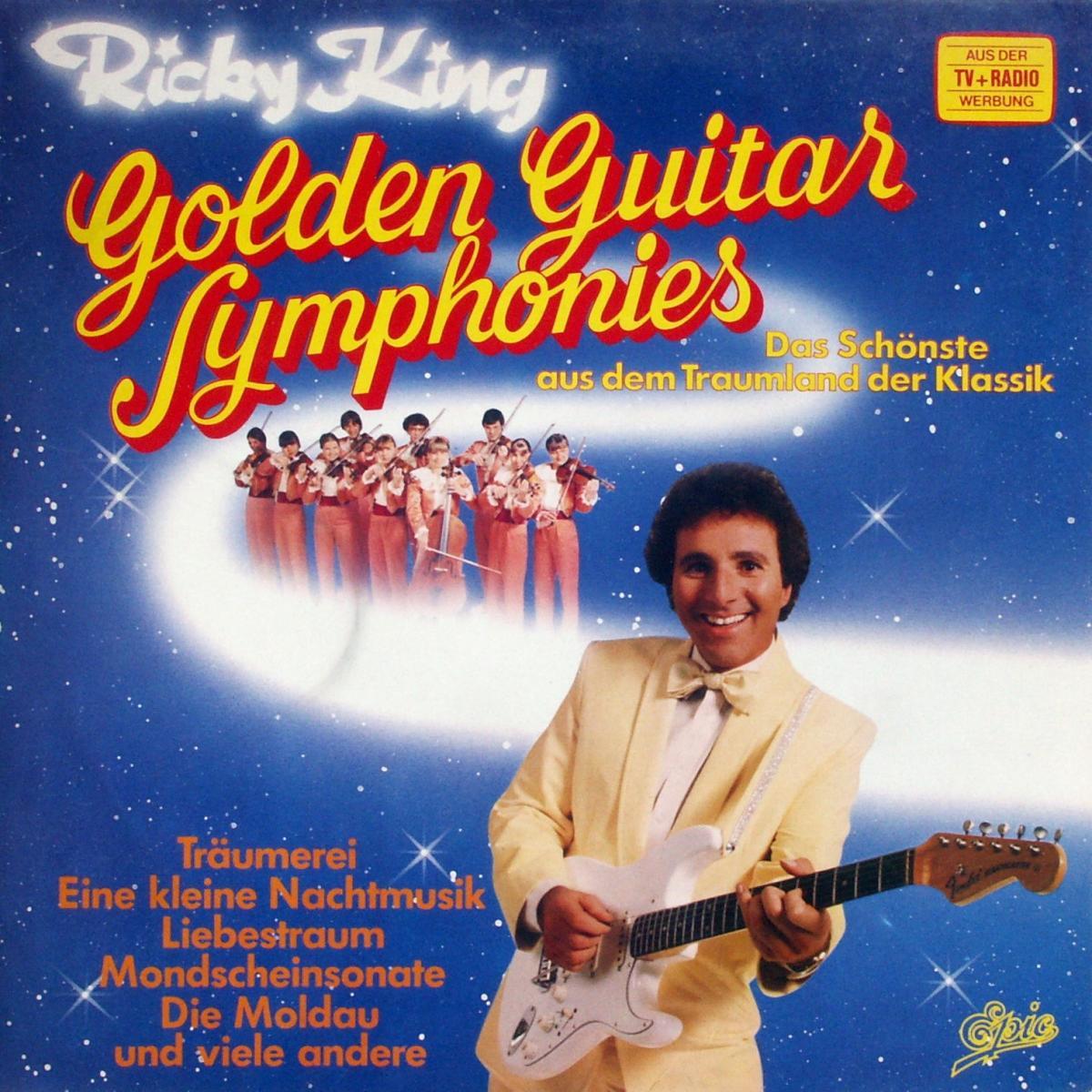 King, Ricky - Golden Guitar Symphonies [LP]