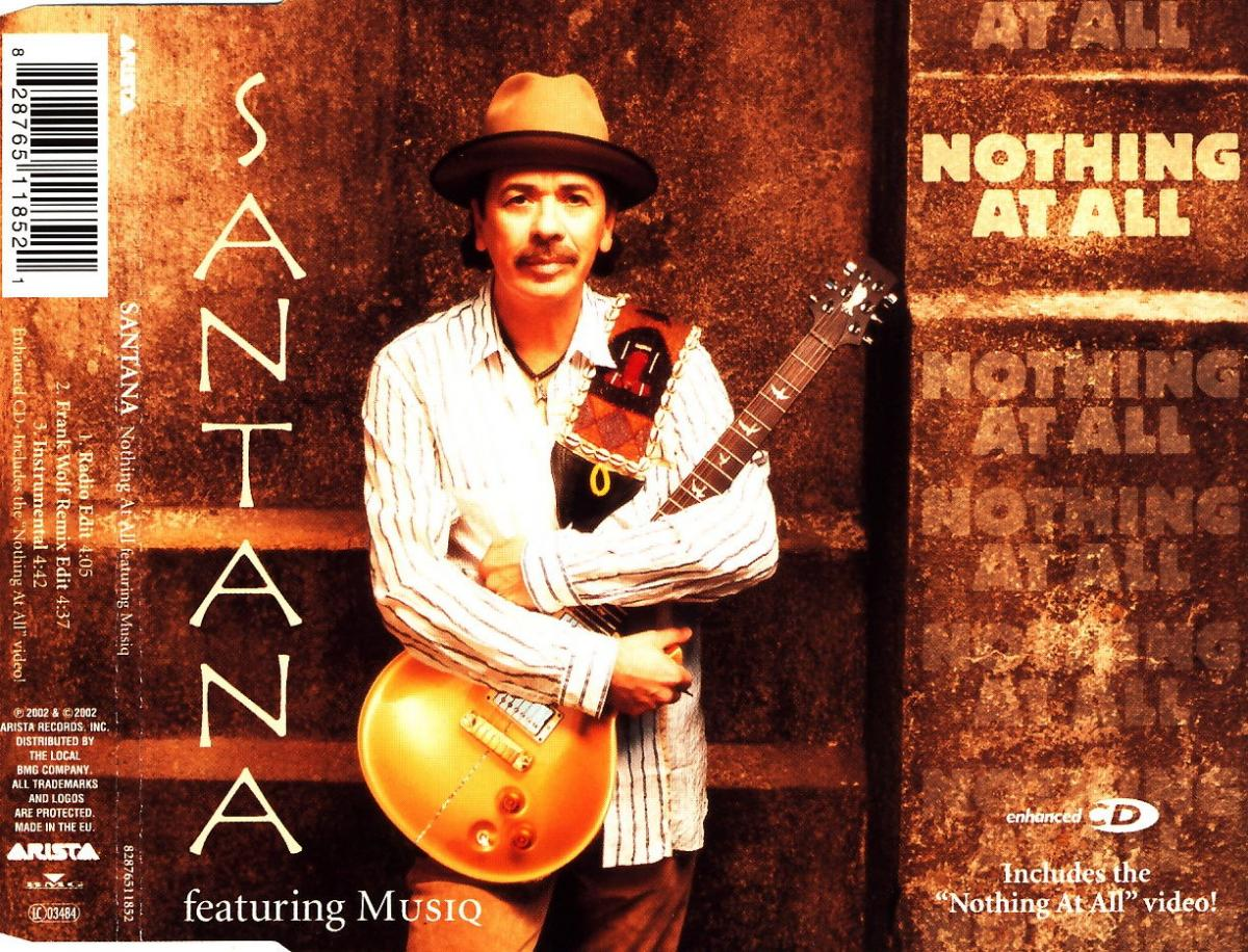 Santana - Nothing At All (feat. Musiq) [CD-Single]
