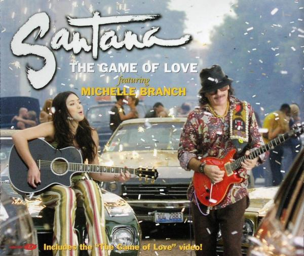 Santana - The Game Of Love [CD-Single]