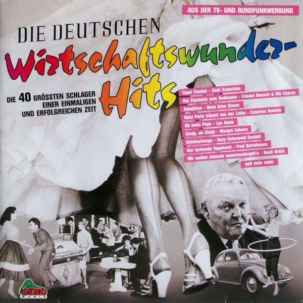 Various - Die Deutschen Wirtschaftswunder-Hits [LP]