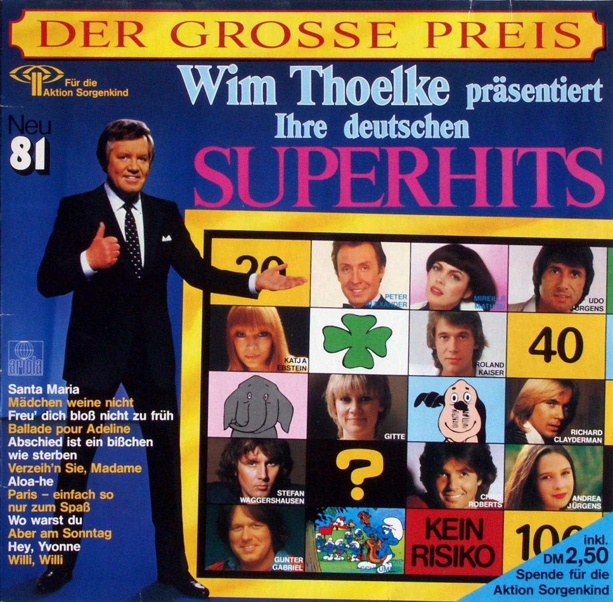 Various - Der Große Preis Ihre Deutschen Superhits neu '81 [LP]