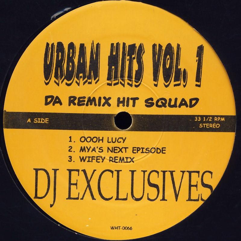 """Da Remix Hit Squad - Urban Hits Vol. 1 [12"""" Maxi]"""