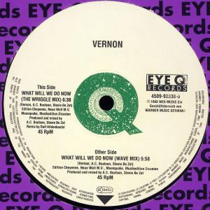 """Vernon - What Will We Do Now [12"""" Maxi]"""