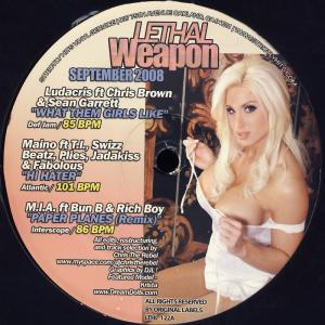 Various - Lethal Weapon - September 2008 [LP]