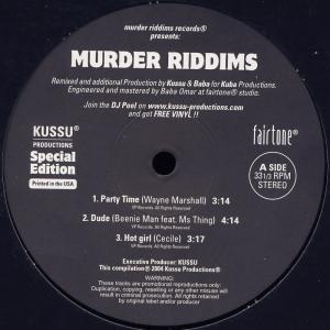 Various - Murder Riddims Special Edition [LP]