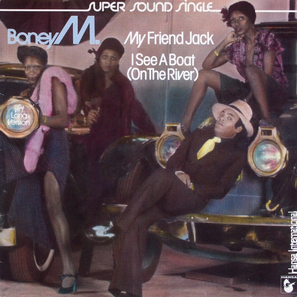 "Boney M. - My Friend Jack/ I See A Boat (On The River) [12"" Maxi]"